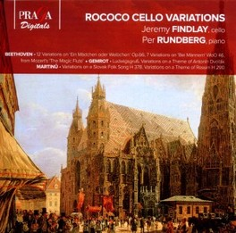 ROCOCO CELLO VARIATIONS WORKS BY BEETHOVEN/GEMROT/MARTINU FINDLAY/RUNDBERG, CD