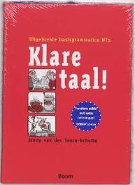 Klare Taal! uitgebreide basisgrammatica NT2, Van der Toorn-Schutte, Jenny, Hardcover