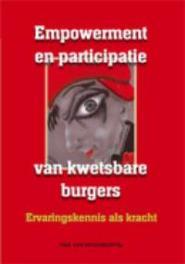 Empowerment en participatie van kwetsbare burgers ervaringskennis als kracht, Paperback