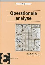 Operationele analyse een inleidng in de modellen en methoden, H. Tijms, Paperback