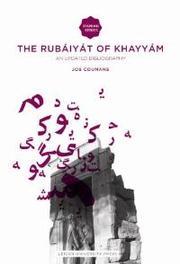 The Rubáiyát of Khayyám an Updated Bibliography, Coumans, Jos, Paperback