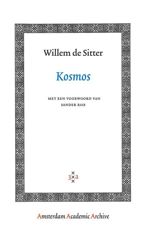 Kosmos Amsterdam Academic Archive, W. de Sitter, Paperback