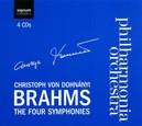 FOUR SYMPHONIES PHILHARMONIA ORCHESTRA/C.VON DOHNANYI