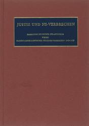 Justiz und NS-Verbrechen XXXVII