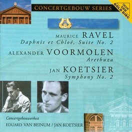 DAPHNIS ET CLOE SUITE N.2 CONCERTGEBOUWORKEST/JAN KOETSIER Audio CD, M /A.VOORMOLEN RAVEL, CD