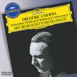 10 MAZURKAS/PRELUDE OP.45 ARTURO BENEDETTI MICHELANGELI Audio CD, F. CHOPIN, CD