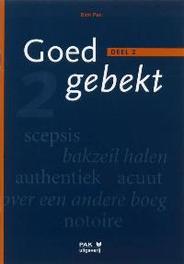 Goed gebekt: 2 Pak, D., Paperback