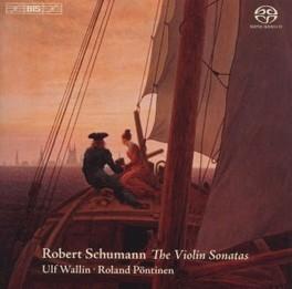 VIOLIN SONATAS WALLIN/PONTINEN R. SCHUMANN, CD