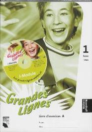 Grandes lignes 1 a/b havo/vwo Werkboek T. Bakker, Hardcover