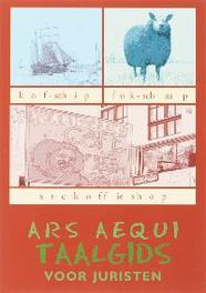 Ars Aequi Taalgids voor juristen E. Tiggeler, Paperback