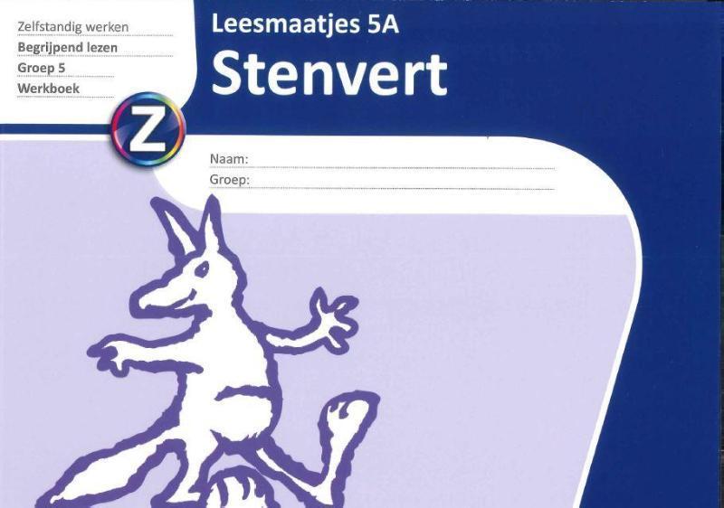 Stenvert Leesmaatjes 5 ex: 5A leesbegrip groep 5 begrijpend lezen, Hokke, Henk, Paperback
