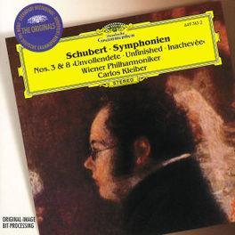SYMPHONIEN NO.3&8 W/WIENER PHILHARMONIKER, CARLOS KLEIBER Audio CD, F. SCHUBERT, CD