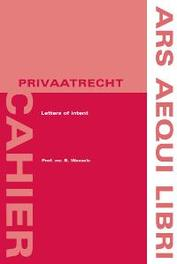 Letters of intent Ars Aequi Cahiers - Privaatrecht, Wessels, B., Paperback