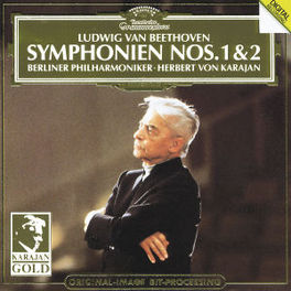 SYMPHONIES NO. 1 & 2 BP/KARAJAN Audio CD, L. VAN BEETHOVEN, CD