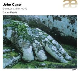 SONATAS & INTERLUDES CEDRIC PESCIA J. CAGE, CD