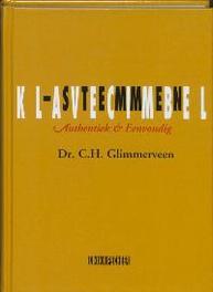 Klavecimbelstemmen authentiek & eenvoudig, Glimmerveen, C.H., Hardcover