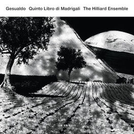 GESUALDO QUINTO LIBRO DI MADRIGAL HILLIARD ENSEMBLE, CD
