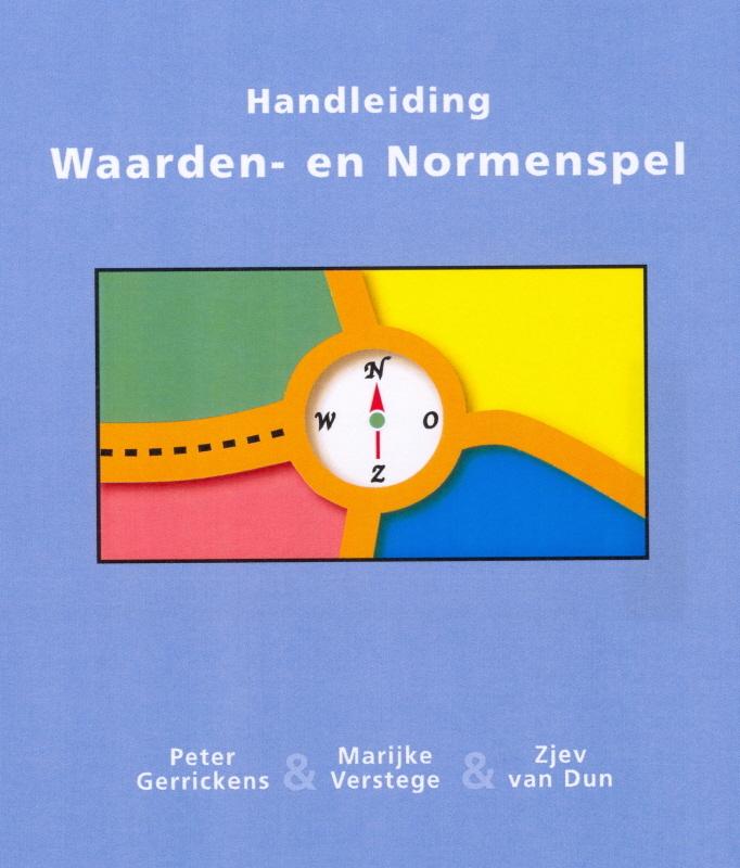 Handleiding Waarden-en normenspel Gerrickens, P., Losbladig