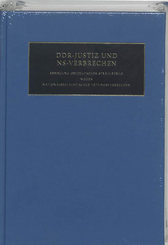DDR-Justiz und NS-Verbrechen 1 die Verfahreb Nr 1001-1030 der Jahre 1975-1990, Hardcover