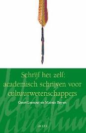Schrijf het zelf academisch schrijven voor cultuurwetenschappers, Lernout, Geert, onb.uitv.