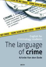 The language of crime VAN, DEN EEDE, onb.uitv.
