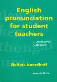 English pronunciation for student teachers C. Gussenhoven, Paperback