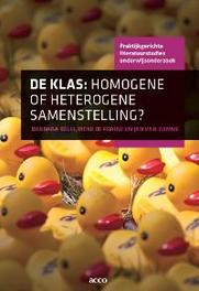 De klas homogene of heterogene samenstelling?, Barbara Belfi, onb.uitv.