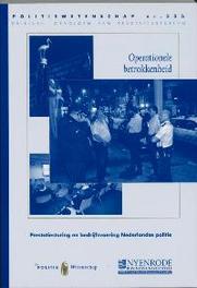 Operationele betrokkenheid prestatiesturing en bedrijfsvoering Nederlandse politie, B. Hoogenboom, Paperback