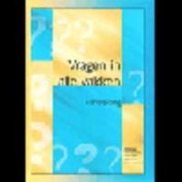 VRAGEN IN ALLE VAKKEN handl.  sec.onderwijs Paperback