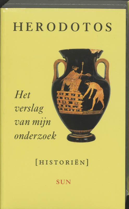 Het verslag van mijn onderzoek Herodotos, Paperback