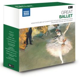 GREAT BALLET GISELLE/COPPELIA/SWAN LAKE/SLEEPING BEAUTY/GAYANE/NUTC V/A, CD