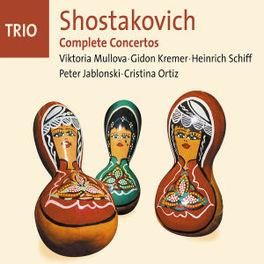 COMPLETE CONCERTOS MULLOVA/KREMER/SCHIFF/JABLONSKI/ORTIZ/A.O. Audio CD, D. SHOSTAKOVICH, CD