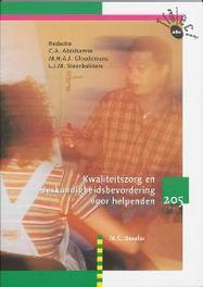 Kwaliteitszorg en deskundigheidsbevordering voor helpenden: 205: Tekstboek Traject V&V, Baseler, M.C., Paperback