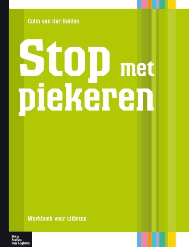 Stop met piekeren werkboek voor de client, Colien van der Heiden, Paperback