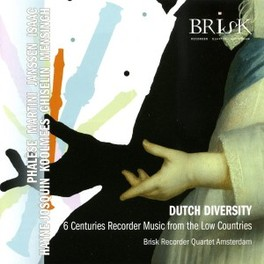 DUTCH DIVERSITY BRISK RECORDER QUARTET/MA, CD