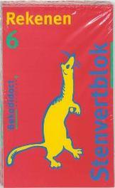 Stenvertblok Rekenen set 5 ex: dl 6 Stenvertblok, Huigen, D., Paperback
