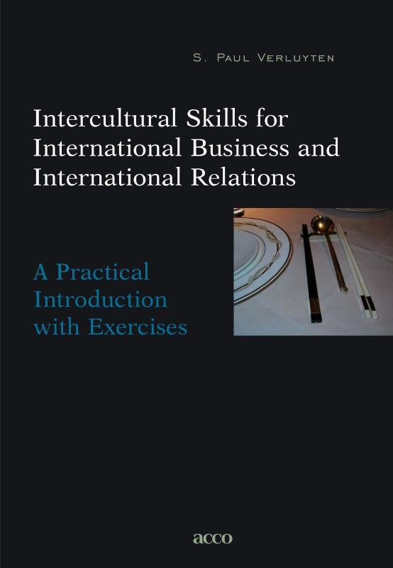 Intercultural skills for international business & international relations a practical Introduction with exercices, VERLUYTEN, S. PAUL, Paperback