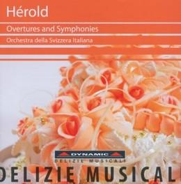 OVERTURES & SYMPHONIES ORCH.DELLA SVIZZERA ITALIANA L.F. HEROLD, CD