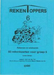 Rekentoppers Groep 6 Antwoorden rekenen en wiskunde, Schulte, G.J., Paperback