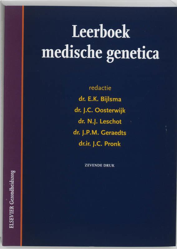 Leerboek medische genetica Paperback