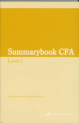Summary CFA: Level 1