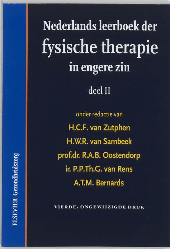Nederlands leerboek der fysische therapie in engere zin II Paperback