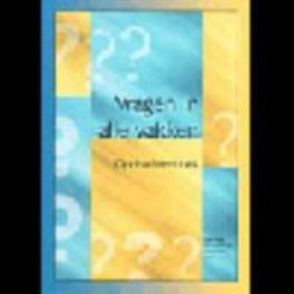 VRAGEN IN ALLE VAKKEN opdrachtboek    sec.onderwijs Paperback