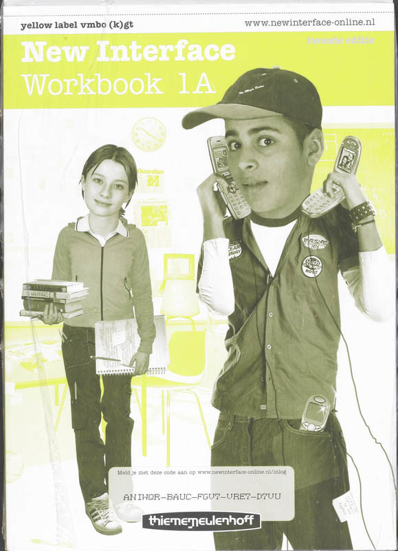 New Interface Yellow label: Vmbo-(k)gt: Workbook 1A+1B Cornford, A., Paperback