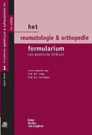 Het Reumatologie & Orthopedie Formularium een praktische leidraad, Van den Bergh, Johannes Petrus Wouterus, Paperback