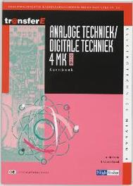 Analoge techniek / digitale techniek: 4 MK - DK3402: Theorieboek TransferE, Bruin, A. de, Paperback