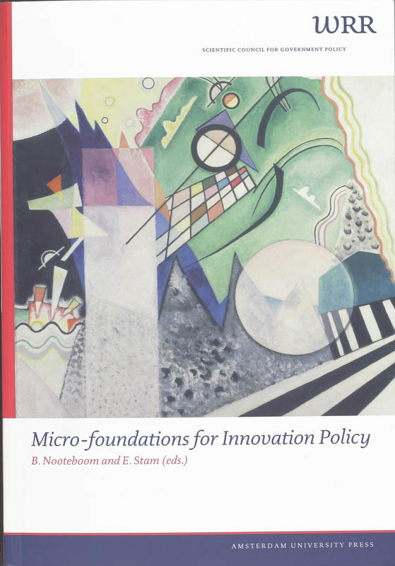 Micro-Foundations for Innovation Policy WRR Verkenningen, Paperback