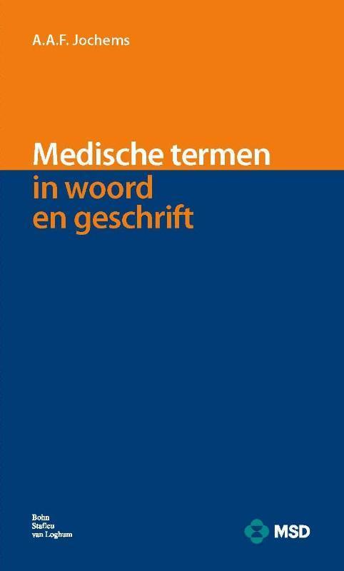 Medische termen in woord en geschrift A.A.F. Jochems, Paperback