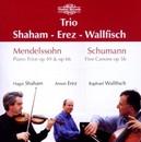 PIANO TRIOS/5 CANONS SHAHAM/EREZ/WALLFISCH