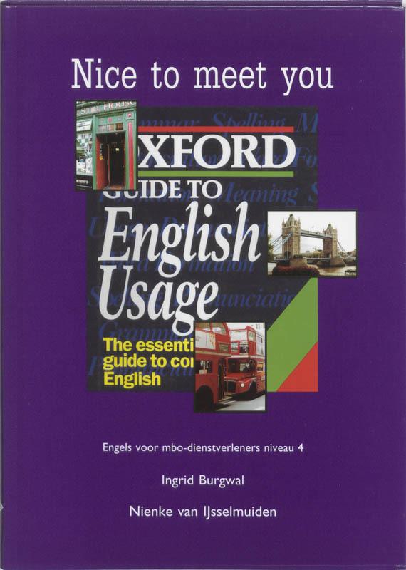 Nice to meet you 4 Engels voor MBO-dienstverleners, I. Burgwal, Paperback
